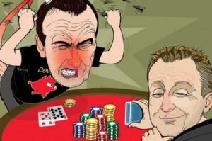 Blöffölés a pókerben